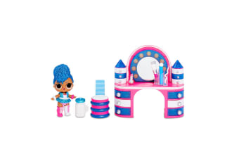 LOL Surprise Backstage Furniture Playset w/Independent Queen/Bottle/Fashion/Shoe