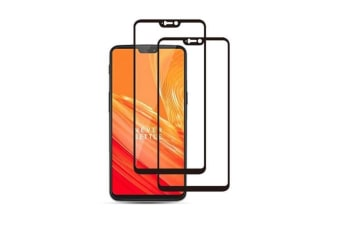 Generic 2.5D Tempered Glass Screen Film for OnePlus 6 (2Pcs)