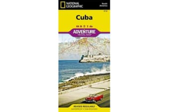 Cuba - Travel Maps International Adventure Map