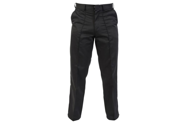 Absolute Apparel Mens Workwear Work Trousers (Black) (30 inches long)
