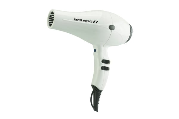 Silver Bullet K2 2200W Hair Dryer - White (900539)