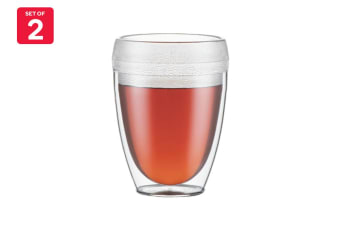 Bodum Pavina Outdoor 2 Piece Double Wall Tumbler - 0.35L, 12oz (11849-10)