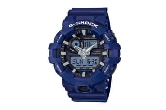 Casio G-Shock Blue Analogue/Digital Mens Watch GA700-2A GA-700-2A