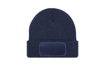Beechfield Unisex Adults Thinsulate Printer Beanie (French Navy) (One Size)