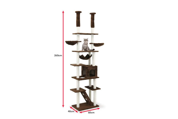 Pawever Pets Cat Scratching Post Tree (Extra Large)