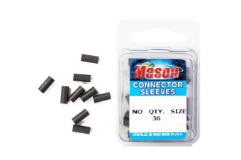 36 x Size 1 Mason Crimps - Crimping Connector Sleeves for Fishing Wire/Line
