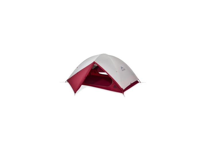 MSR Zoic 2 Shelters Backpacking Tents Cream/Red