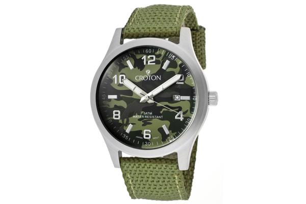 Croton Men's Military (CROTON-CA301234LGGR)