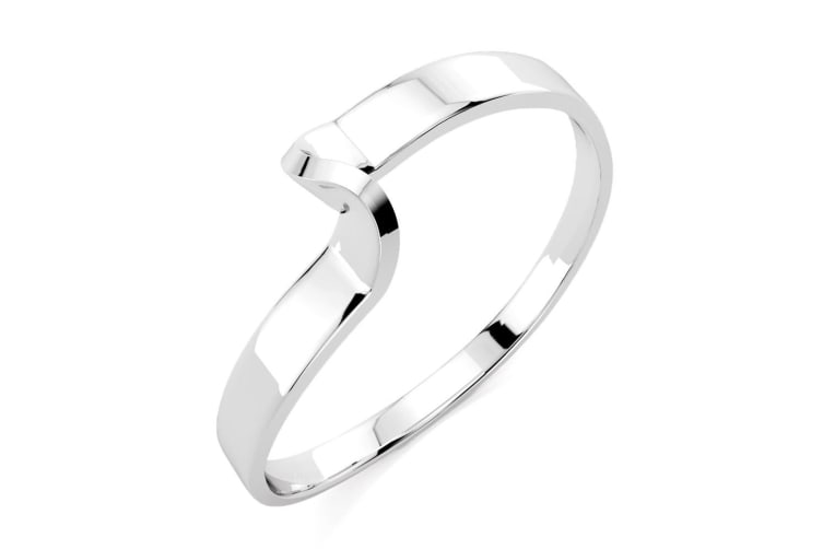.925 Classic  Wedding Band-Silver Size US 8