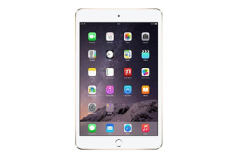 Apple iPad Mini 3 A1600 WiFi + 4G 16GB Gold [Good Grade]