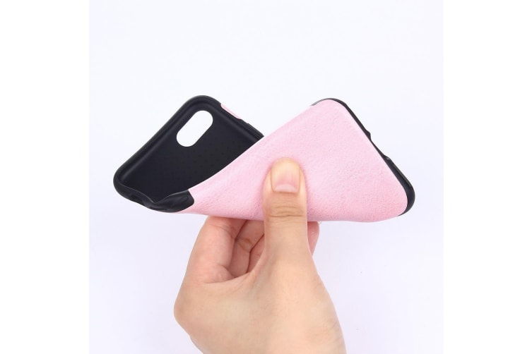 For iPhone 8 7 Case Stylish Ultra-slim Durable Protective Leather Cover Pink