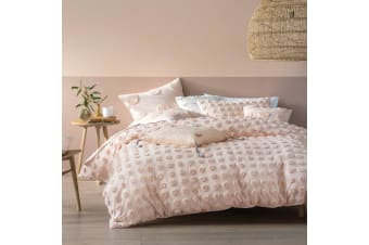 Linen House Haze Duvet Cover Set (Peach)