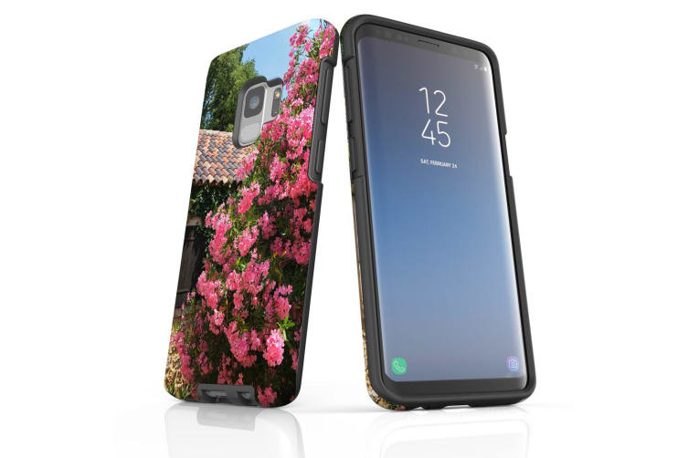 For Samsung Galaxy S9 Case Armour Cover  Blossoming Bush