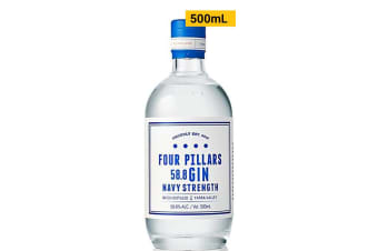 Four Pillars Navy Strength Gin 500mL Bottle