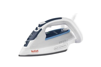 Tefal Smart Protect 2400W Steam Iron Ironing Steamer for Clothes Garments White