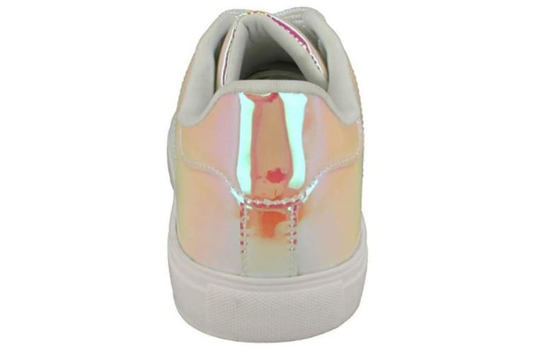Spot On Womens/Ladies Hologram Pumps (Pink) (6 UK)