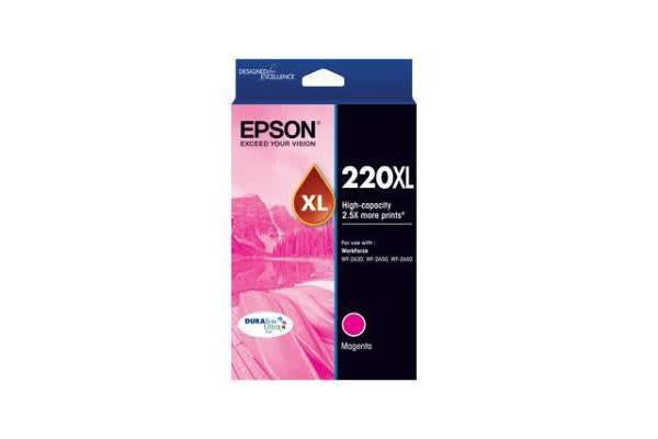 EPSON 220XL Ink Cartridge Magenta