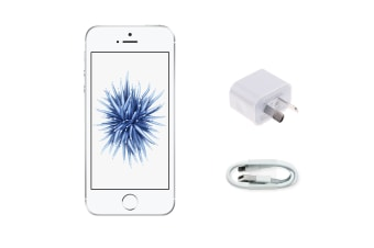 Apple iPhone SE Refurbished (16GB, Silver) - A Grade