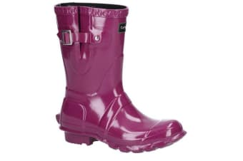 Cotswold Womens/Ladies Windsor Gloss Short Wellington Boot (Purple) (8 UK)