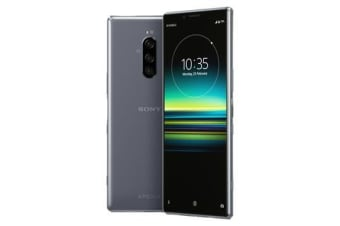New Sony Xperia 1 Dual SIM 128GB 4G LTE Smartphone Grey (FREE DELIVERY + 1 YEAR AU WARRANTY)