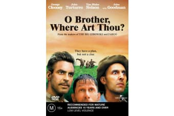 O Brother Where Art Thou DVD Region 4