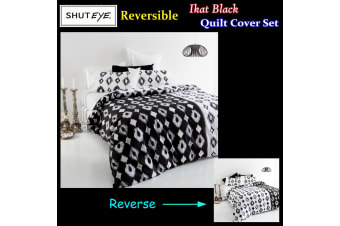 Ikat Quilt Cover Set by Shuteye
