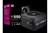 Coolermaster V 550W  80+ Gold Fully Modular, 120mm Fan ATX PSU, 5 Years Warranty