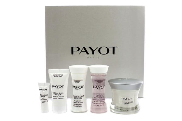 Payot Les Correctrices Special Rides Creme Set: Creme 50ml + Cleanser 30ml + Lotion 30ml + Masque 15ml + Serum 3ml (5pcs)