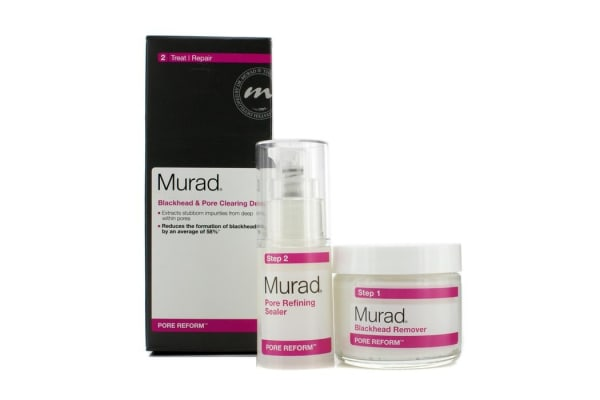 Murad Pore Reform Blackhead & Pore Clearing Duo: Blackhead Remover 50g + Pore Refining Sealer 15ml (2pcs)