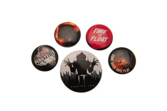 IT Chapter Two Button Badge Set (Pack of 6) (Multicoloured) (One Size)