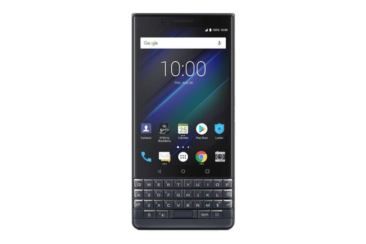 BlackBerry KEY2 LE Dual SIM BBE100-4 (64GB, Slate)