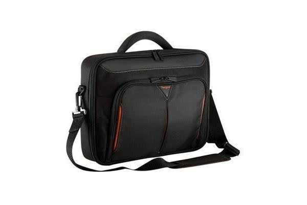 "Targus 14"" Topload Notebook Bag Classic+ Clamshell Traditional/Corporate - Black"