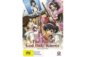 The World God Only Knows: Ova Collection -Comedy Region 4 DVD PREOWNED: DISC LIKE NEW