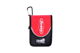Berkley Deluxe Soft Bait Wallet - Single Sided Soft Plastics Wallet With 12 Sleeves