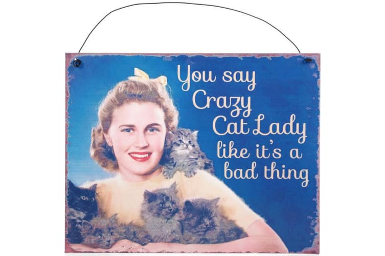 Something Different You Say Metal Sign (Multicoloured) (One Size)