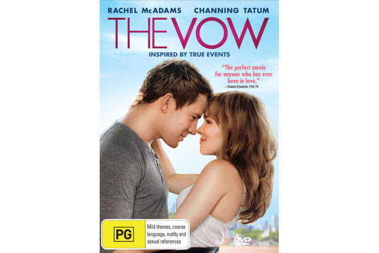 The Vow DVD Region 4
