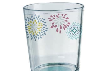 Belfiore Floral Patterned Glass (Clear) (One Size)