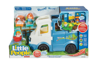 Fisher Price Little People Song And Sounds Camper