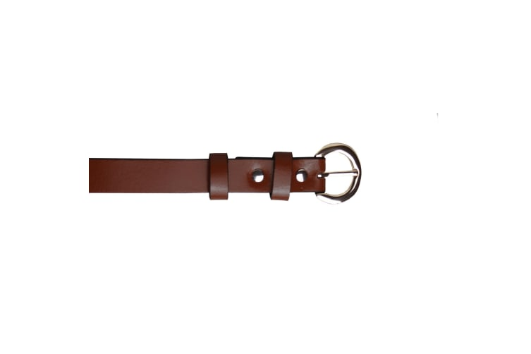 Eastern Counties Leather Womens/Ladies Thin Fashion Belt (Brown) (12)