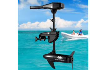 Seamanship 70LBS Electric Trolling Motor Fishing Boat Marine Outboard Engine