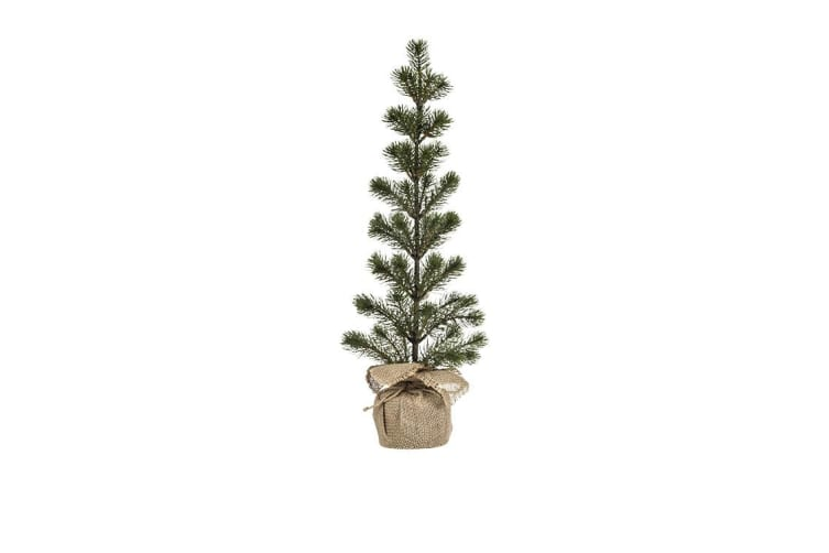 Rogue Christmas Pine Needle Tree 25x65cm Green