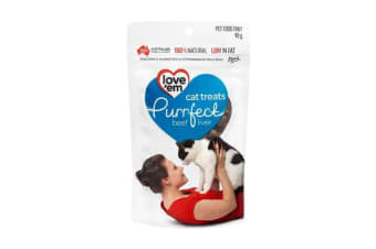 Love'em Purrfect Beef Cat Treats