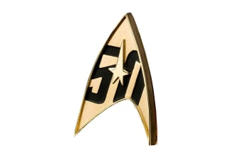 Star Trek 50th Anniversary Replica Badge