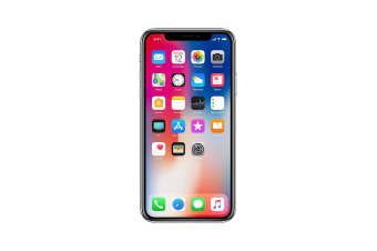 Apple iPhone X A1865 64GB Silver (Great Condition) AU Model
