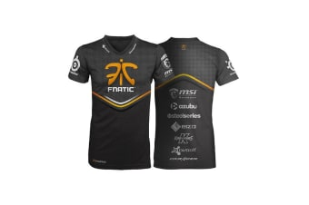 Fnatic Black Large Player T-Shirt