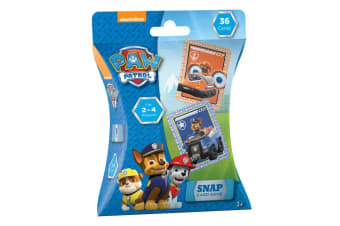 36pc Paw Patrol Snap Playing Deck Card Educational Games/Toys Kids/Children 3y+