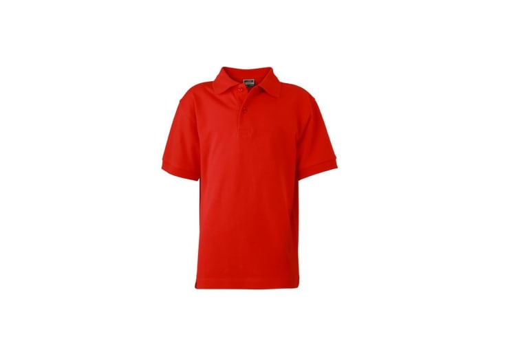 James and Nicholson Childrens/Kids Classic Polo (Tomato Red) (XXL)