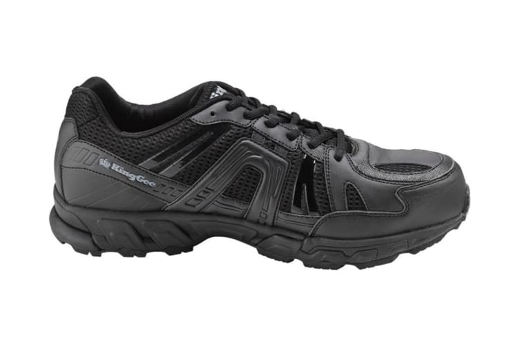 King Gee Men's Comp-Tec G12 Sport Safety Shoe (Black, Size 15)