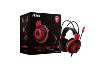 MSI Gaming Headset Microphone In-line Remote 3.5mm Headphone for Laptop PC - DS501