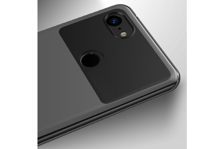 Google Pixel 3 XL Ultra Slim Premium Crystal Clear TPU Gel Back Case by MEZON – Shock Absorption, Wireless Charging Compatible – With Screen Protector (Pixel 3 XL, Gel) – FREE EXPRESS